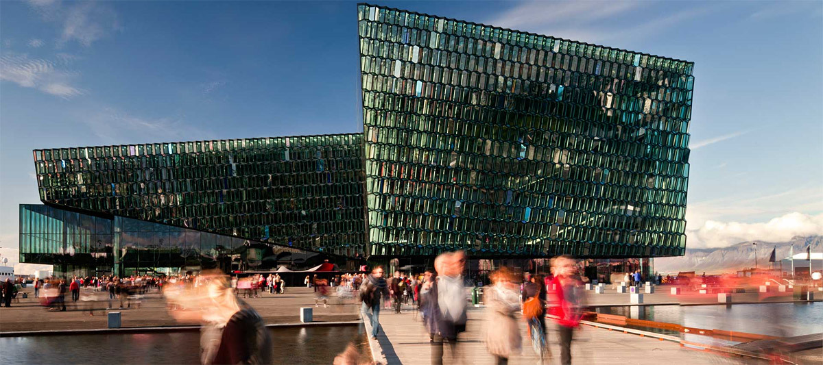 Harpa - Reykjavik Concert Hall and Conference Centre, 2011 (Image: Henning Larsen Architects)