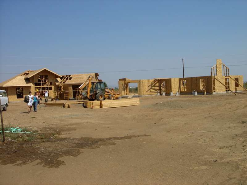 Houses underconstruction