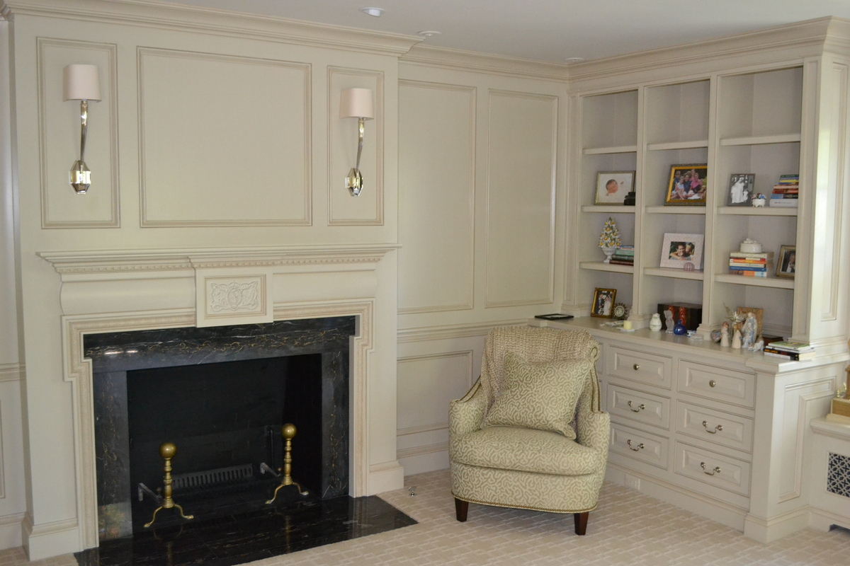 Master Bedroom, Fireplace