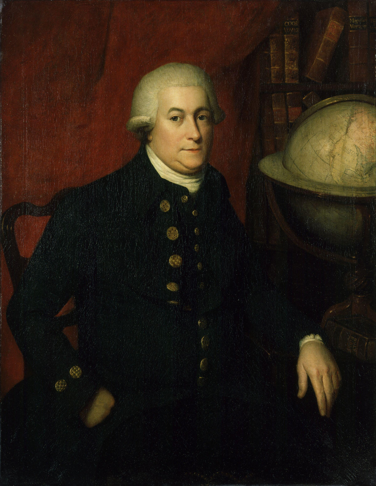 English officer and explorer George Vancouver, image via Wikipedia.