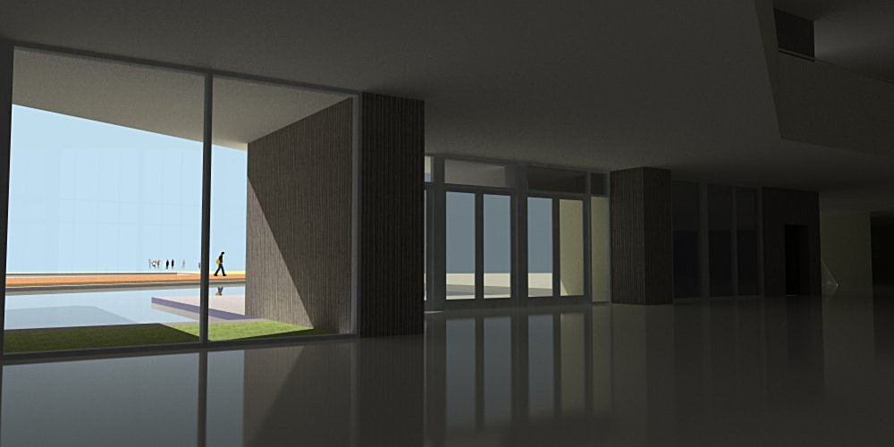 Rendering Phase 2: Study and incorporation of materials to the Composition.