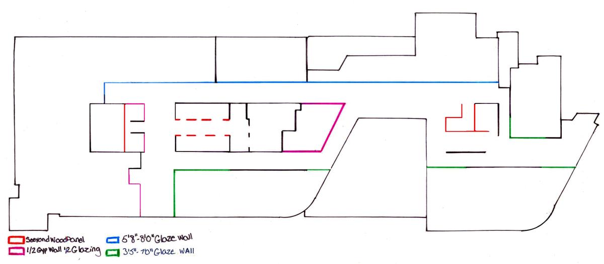 Third Floor Wall Type Diagram