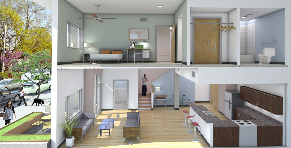 Townhome Section