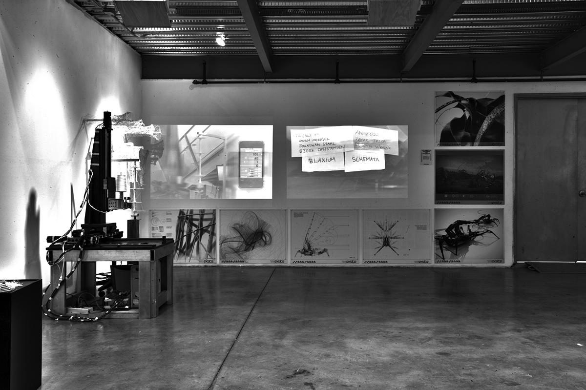 Blaxium Schemata selected for the 2010 Sci-Arc Thesis Exhibit