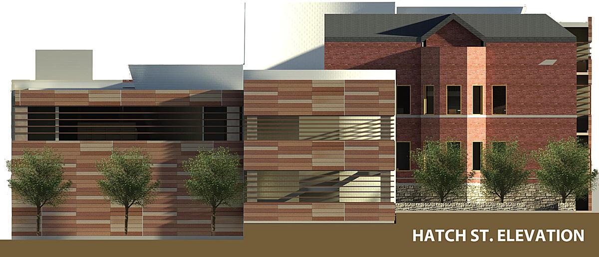 Hatch St. elevation