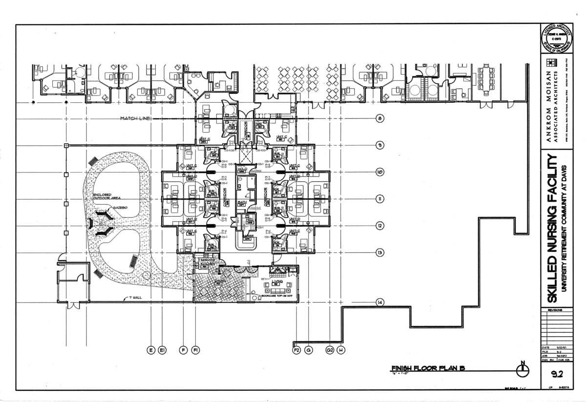 Finish Floor Plan- Alzheimer's Unit