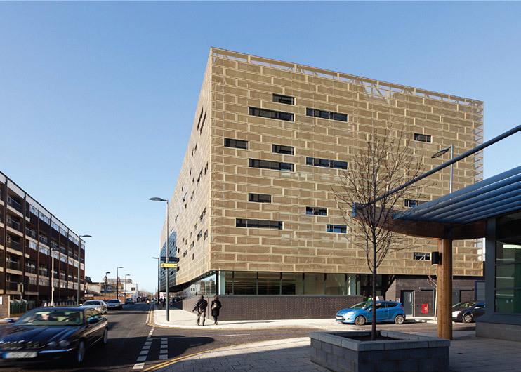 Pollard Thomas Edwards Architects, with Tidemill Academy & Deptford Lounge, Deptford, UK