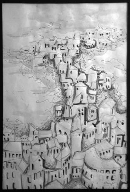 Drawings by Jaime F. Villacis - Bellavista in Ambato