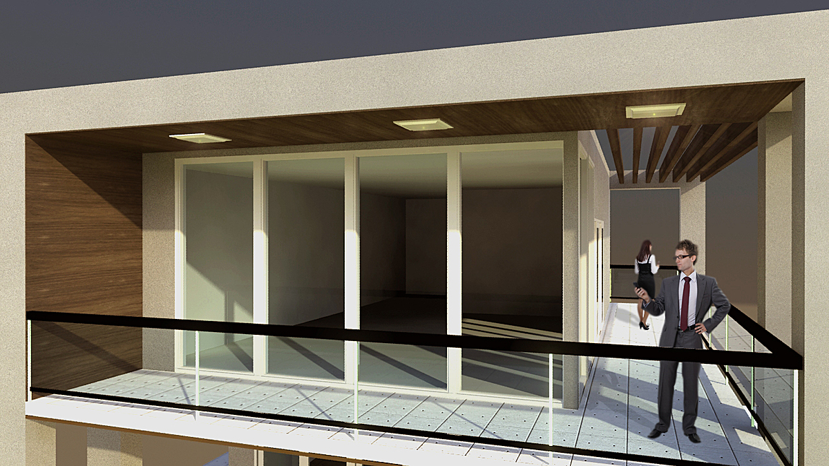 Exterior rendering (addition)