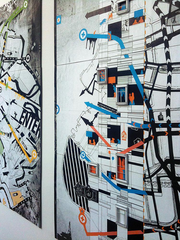 Corridor Gallery Installation View 07