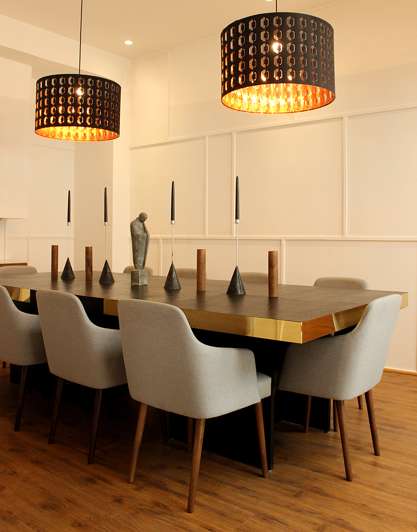 Dining room of Primera House by r+d studio