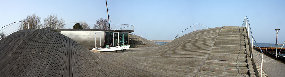 Youth sailing club, by BIG + JDS's (formerly PLOT)