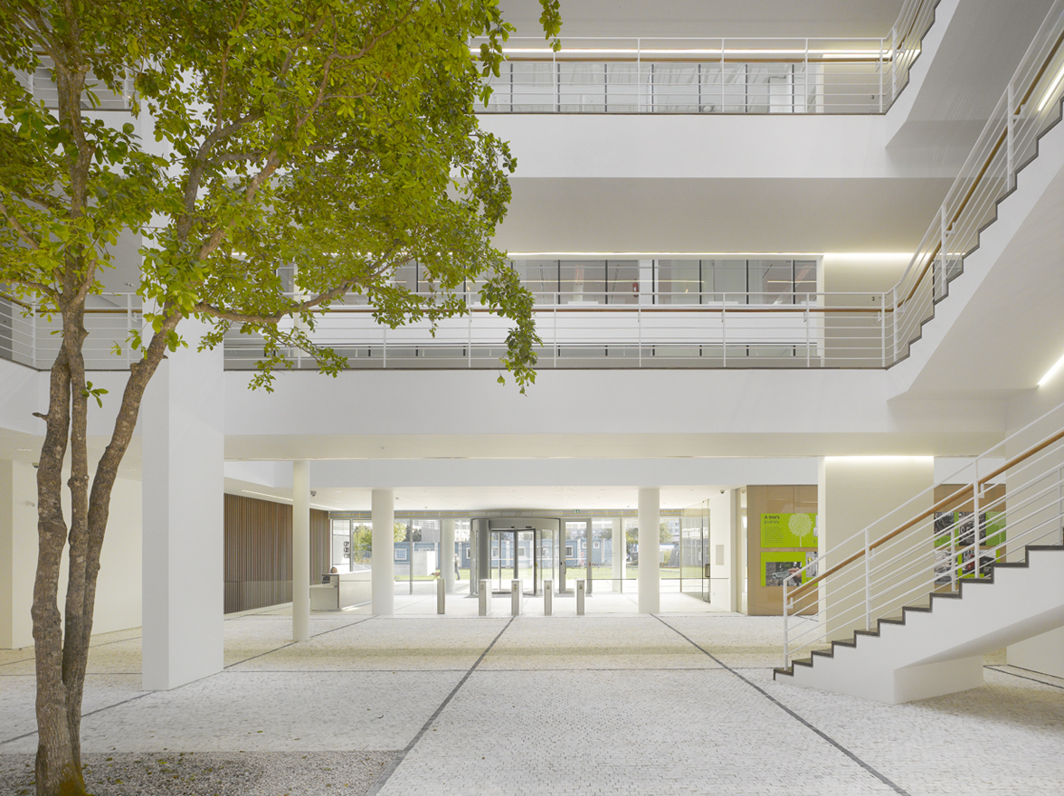 City Green Court view of atrium looking south - Copyright Roland Halbe