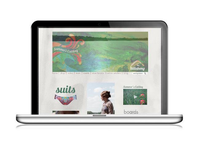 Women's Summer Wear Webpage