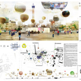 2nd Place: OH!SOM architects / Stephanie Durniak, Marie Fade, Baptiste Franceschi (France)