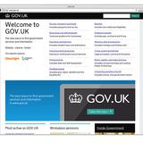 Digital Category Winner: GOV.UK WEBSITE, Designed by Government Digital Service
