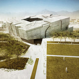 Aerial approach (Image: Matteo Cainer Architects)