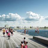 White Arkitekter: View from pier