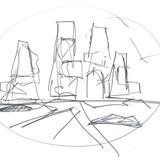 Sketch by Ben van Berkel (Image: UNStudio)