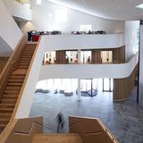 Rabobank Westelijke Mijnstreek Advice Center in Sittard, the Netherlands by Mecanoo; Photo: Christian Richters