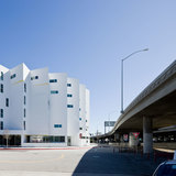 The New Carver apartments provide stable housing for the formerly homeless. Credit: Michael Maltzman Architecture