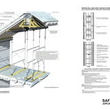Citation of Merit: Safe House (Joplin, MO). Graphic Courtesy of Quad-Lock Building Systems Ltd., Drawing © Wrap Architecture