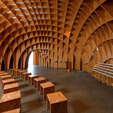Motorway Church in Siegerland, Germany by Michael Schumann; OSB manufacturer: EGGER Wood-based materials