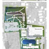 Holcim Silver Award: Urban agriculture and factory conversion, Bangkok, Thailand: Master plan.