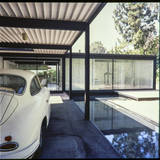 Pierre Koenig's Bailey residence in West Hollywood (after 1958), from Pierre Koenig's collection. Image via digitallibrary.usc.edu.
