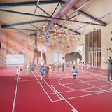 Gym (Image: Mecanoo architecten)