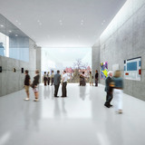 Interior view, Central Building, day (Image: CHYBIK+KRISTOF AA)