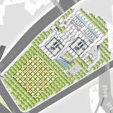 Site plan (Image: Murphy/Jahn Architects)