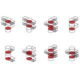Axonometric diagrams (Image: PRAUD)
