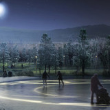 Winter on the Yongsang Lake © West 8 urban design & landscape architecture