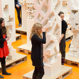 Students of The Why Factory have built and developed the towers (Photo: Frans Parthesius)