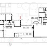 Stelzhamerschule Linz (by KIRSCH Architecture) First floor plan Image via KIRSCH Architecture