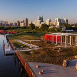 Honor Award: Ping Tom Park Boathouse (Plano, IL). Photo by Ballogg Photography