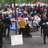 photo of #occupywallst via Aaron Plewke