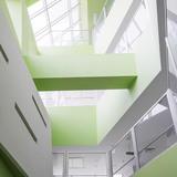 Pars Hospital in Rasht, Iran by New Wave Architecture (Lida Almassian   Shahin Heidari); Photo   Parham Taghioff
