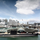 Completed Buildings - DISPLAY: The Waterfront Pavilion by Francis-Jones Morehen Thorp
