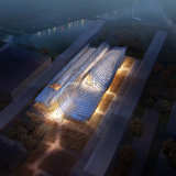 China Pavilion for Milan Expo 2015 (under construction) by Studio Link-Arc with Tsinghua University. Image: Studio Link-Arc