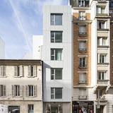Planchette sheltered housing in Paris, France by AZC Atelier Zündel Cristea; Photo: SergioGrazia