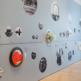 Installation view of Chicagoisms at the Art Institute of Chicago, April 5, 2014–January 4, 2015. Photo courtesy of The Art Institute of Chicago.