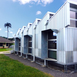 Energy Positive Relocatable Classroom in Ewa Beach, HI by Anderson Anderson Architecture; Photo: Anthony Vizzari, Anderson Anderson Architecture