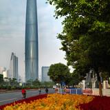 Guangzhou International Finance Center in Guangzhou, China by Wilkinson Eyre Architects (Photo: Jonathan Leijonhufvud)