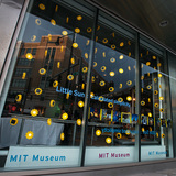 Olafur Eliasson's Little Sun installation at MIT Museum. Photo: Barry Hetherington. Image courtesy of MIT Council for the Arts.