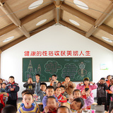 Hualin Temporary Elementary School, 2008, Chengdu, China. Photo by Li Jun