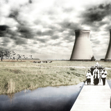 Special Mention, Dystopian Futures: Post-Nuclear Necropolis by Compagnie-O Architects: Joke Vermeulen, Francis Catteeuw, Bram van Cauter, Ioannis Gio (BELGIUM). Image courtesy of Unbuilt Visions competition.
