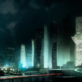 The Cloud is located at the entrance to the Dreamhub master plan (Image: Luxigon/MVRDV)