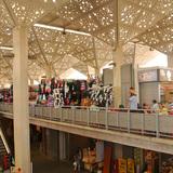 the Mercado Tirsa de Molina, designed by Iglesis Prat Arquitectos phot by Chris DeHenzel